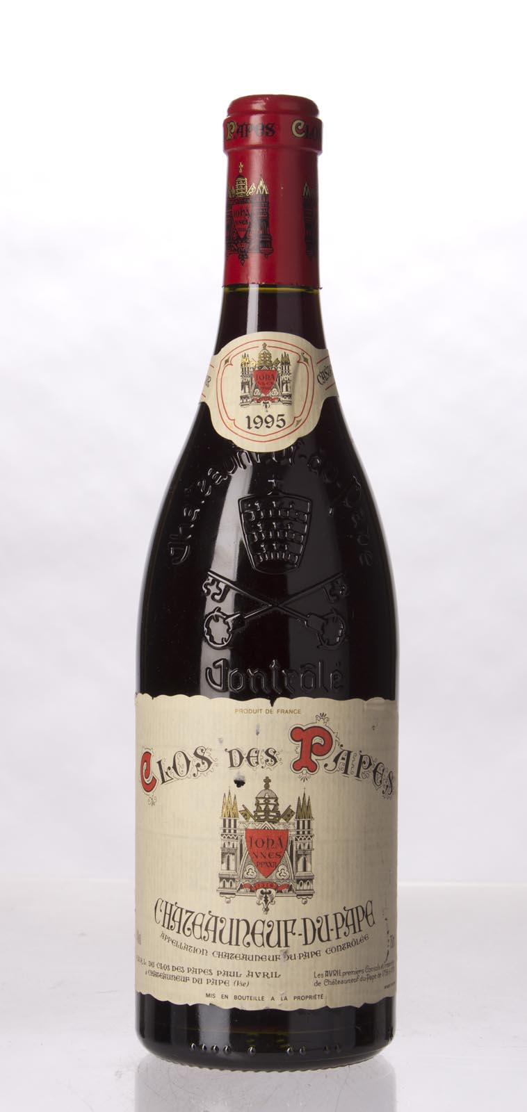 Clos des Papes Chateauneuf du Pape 1995, 750mL (WS96) from The BPW - Merchants of rare and fine wines.