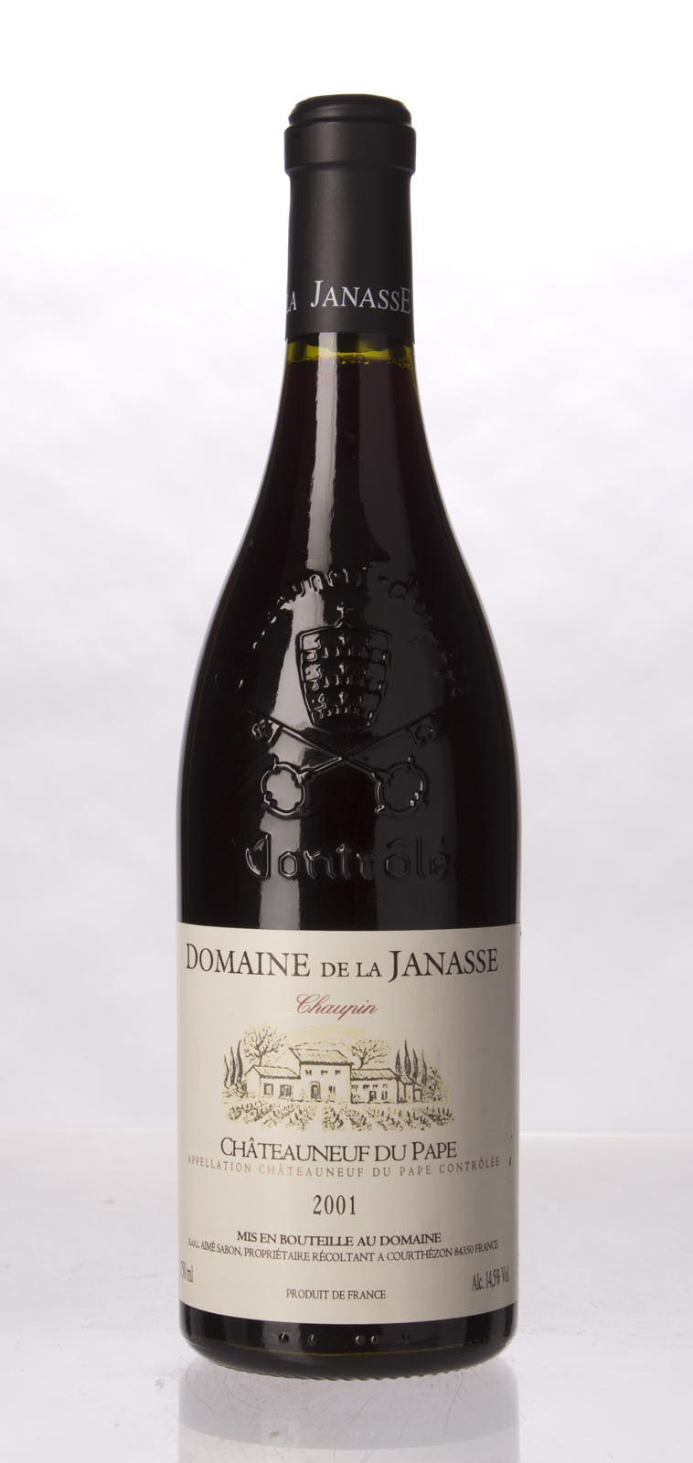 Domaine de la Janasse Chateauneuf du Pape Cuvee Chaupin 2001, 750mL (WA95) from The BPW - Merchants of rare and fine wines.