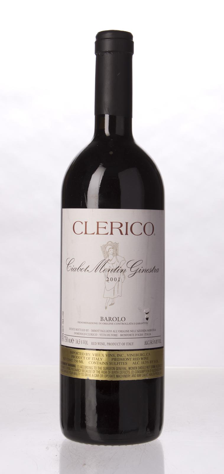 Domenico Clerico Barolo Ciabot Mentin Ginestra 2001, 750mL (ST94, WS96) from The BPW - Merchants of rare and fine wines.