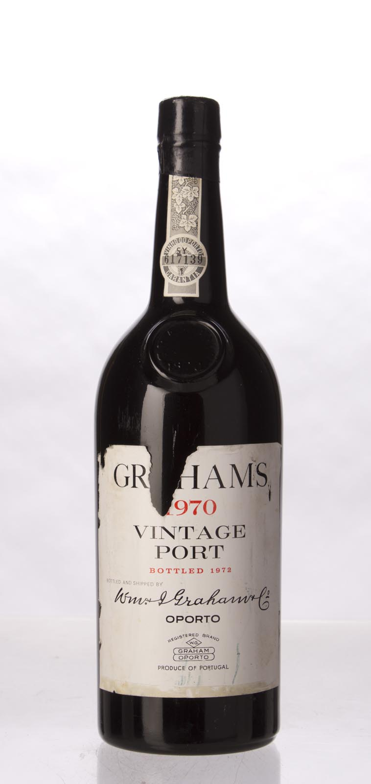 Graham Vintage Port 1970, 750mL (WA93, WS94) from The BPW - Merchants of rare and fine wines.