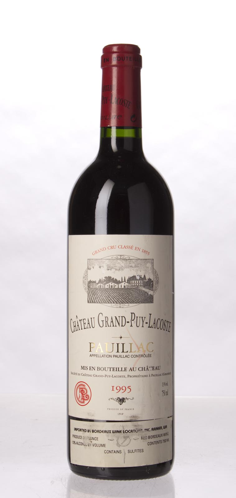 Grand Puy Lacoste 1995, 750mL (WA95) from The BPW - Merchants of rare and fine wines.