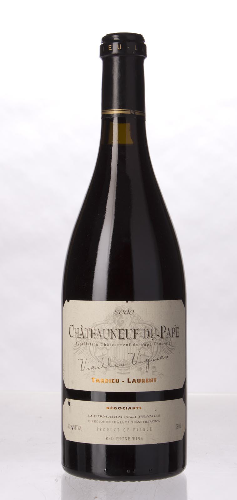 Tardieu Laurent Chateauneuf du Pape Vieilles Vignes 2000, 750mL (WA94, ST93) from The BPW - Merchants of rare and fine wines.