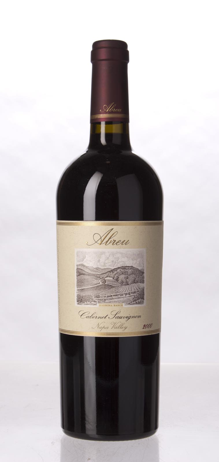 Abreu Cabernet Sauvignon Madrona Ranch 2000, 750mL (WA92) from The BPW - Merchants of rare and fine wines.