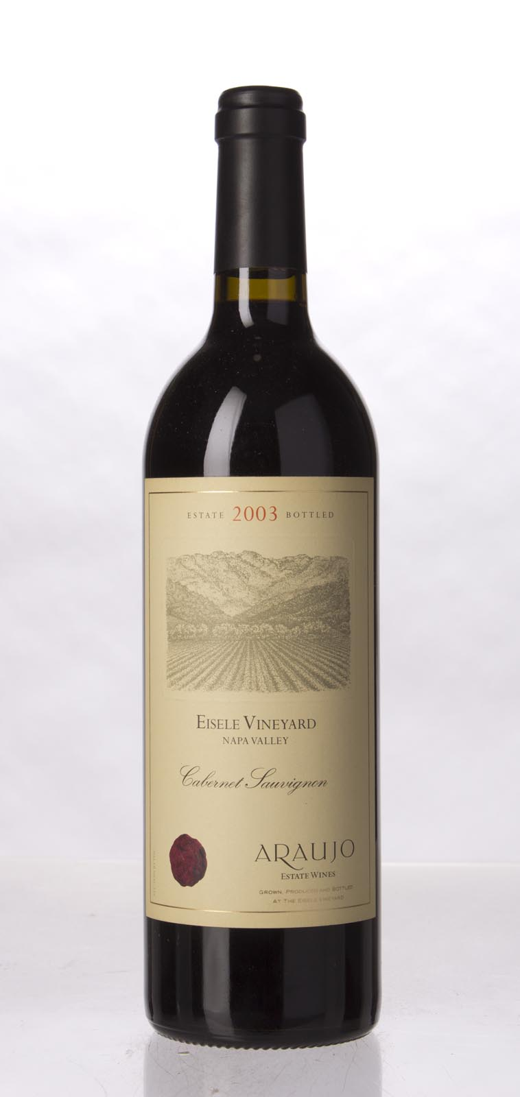 Araujo Estate Cabernet Sauvignon Eisele Vineyard 2003, 750mL (WA98) from The BPW - Merchants of rare and fine wines.