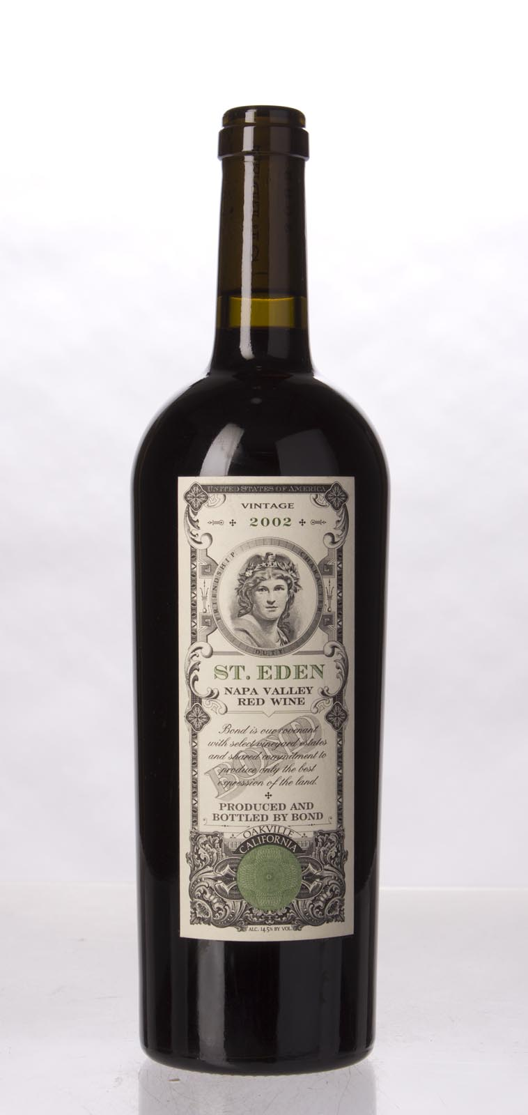 Bond St. Eden 2002, 750mL (WA100) from The BPW - Merchants of rare and fine wines.