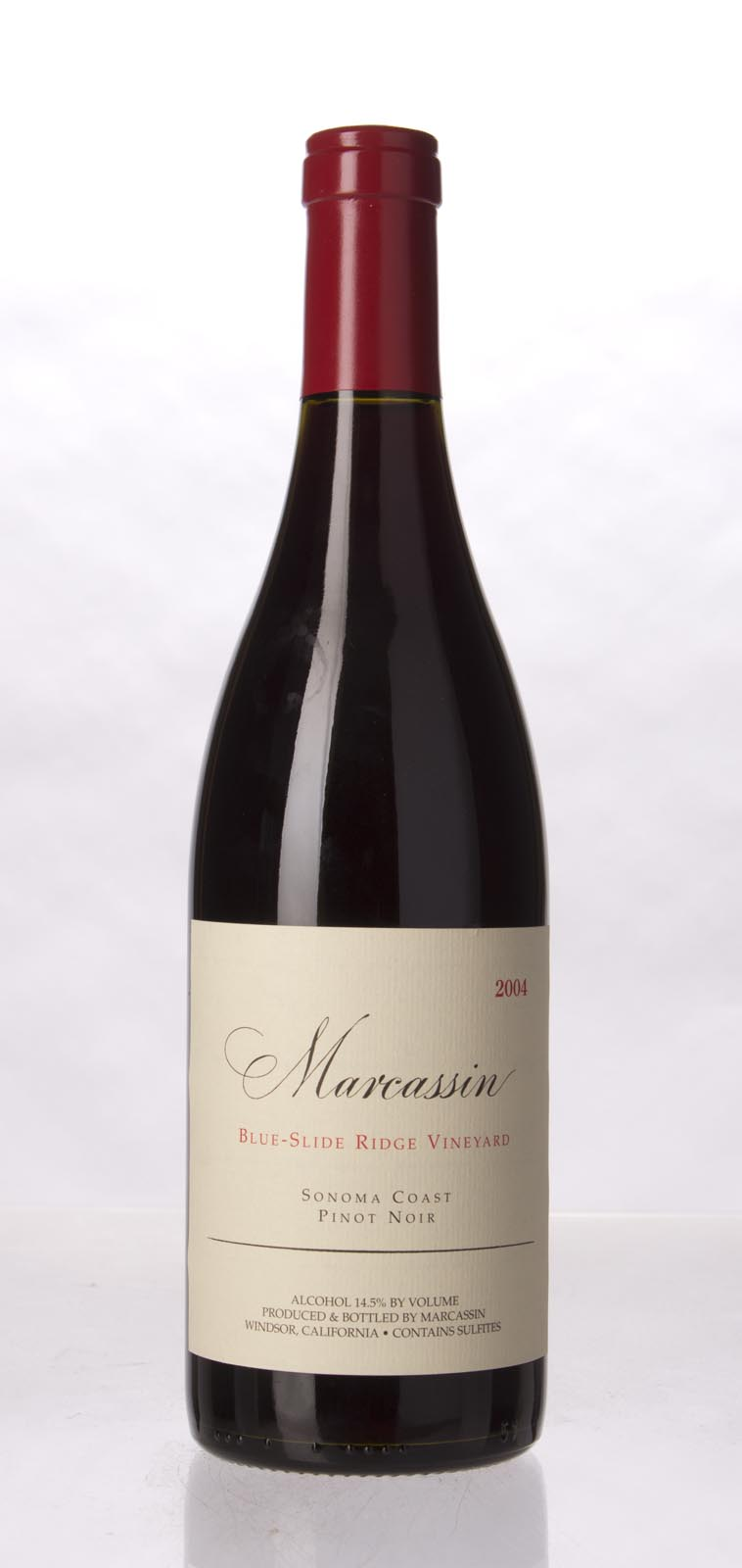 Marcassin Pinot Noir Blue Slide Ridge 2004, 750mL (WA95+, ST95+) from The BPW - Merchants of rare and fine wines.