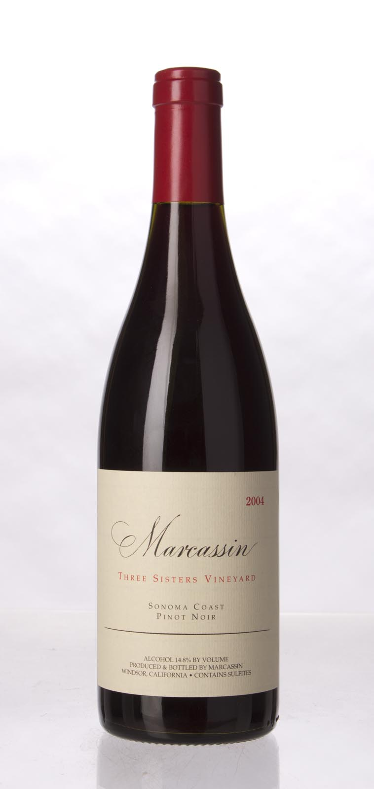 Marcassin Pinot Noir Three Sisters Vineyard 2004, 750mL (WA94, WS95) from The BPW - Merchants of rare and fine wines.