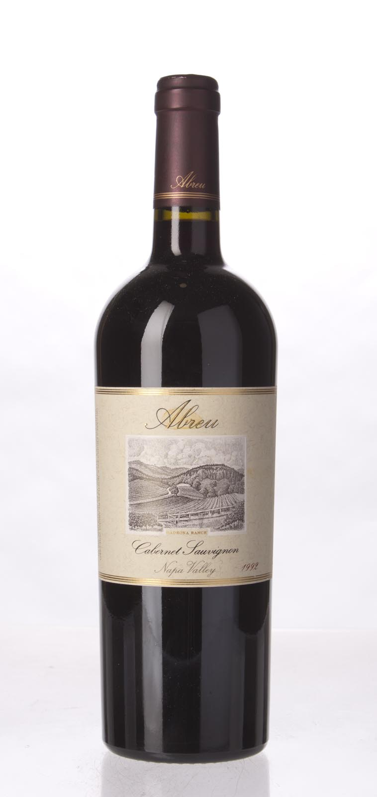Abreu Cabernet Sauvignon Madrona Ranch 1992, 750mL (WS93) from The BPW - Merchants of rare and fine wines.