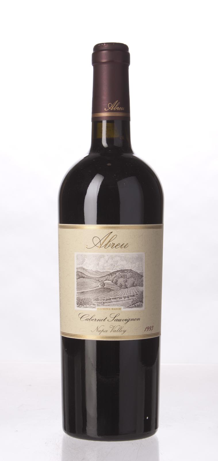 Abreu Cabernet Sauvignon Madrona Ranch 1993, 750mL (WA94-96) from The BPW - Merchants of rare and fine wines.