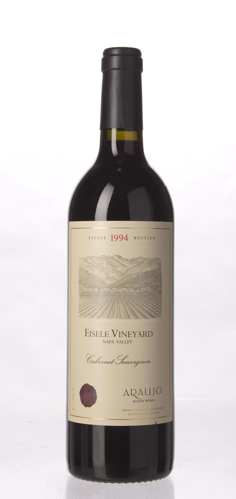 Araujo Estate Cabernet Sauvignon Eisele Vineyard 1994,  (WA95, WS96) from The BPW - Merchants of rare and fine wines.