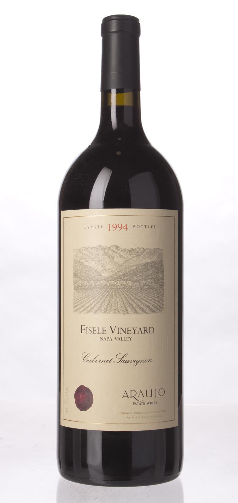 Araujo Estate Cabernet Sauvignon Eisele Vineyard 1994, 1.5L (WA95, WS96) from The BPW - Merchants of rare and fine wines.