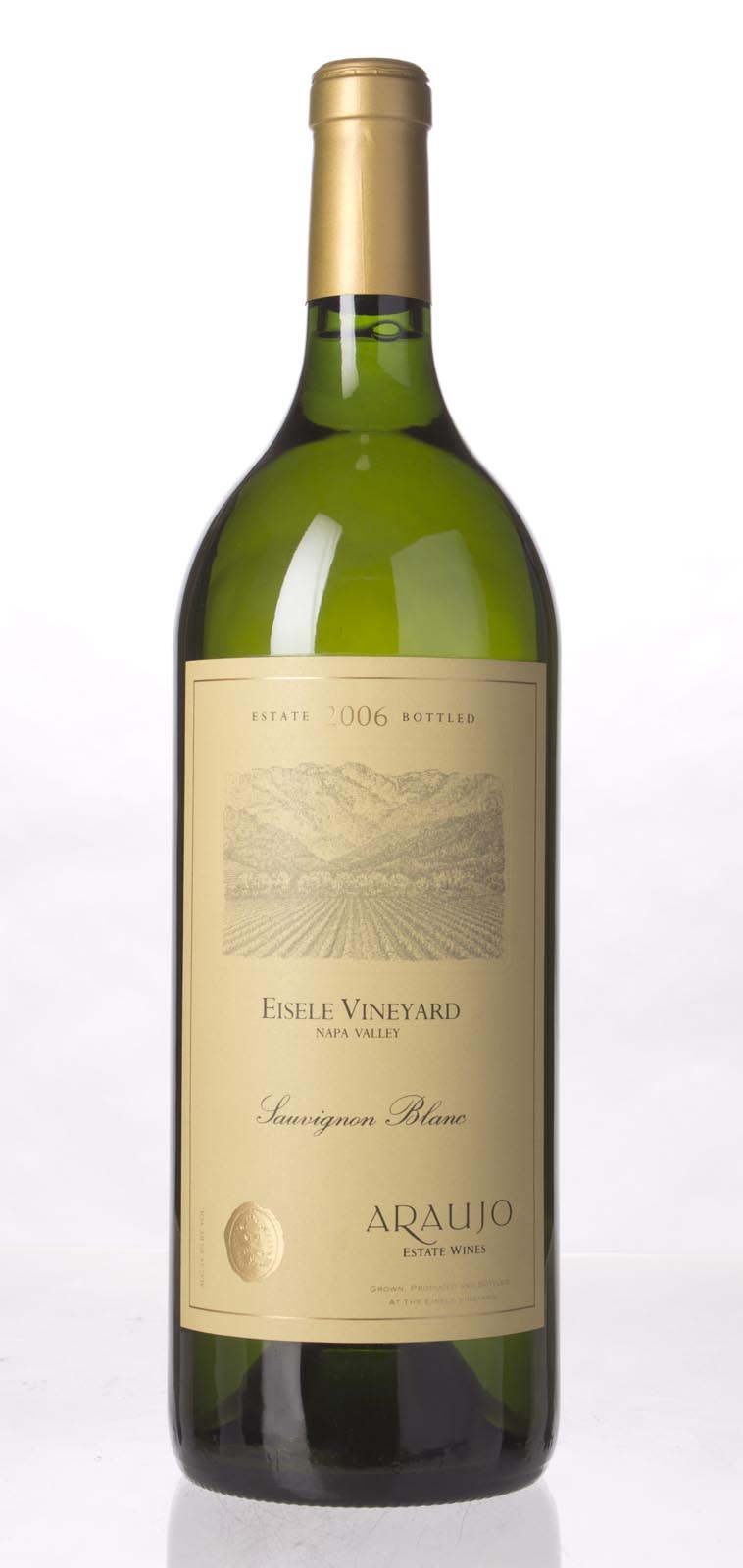 Araujo Estate Sauvignon Blanc Eisele Vineyard 2006, 1.5L (WA92, ST91) from The BPW - Merchants of rare and fine wines.