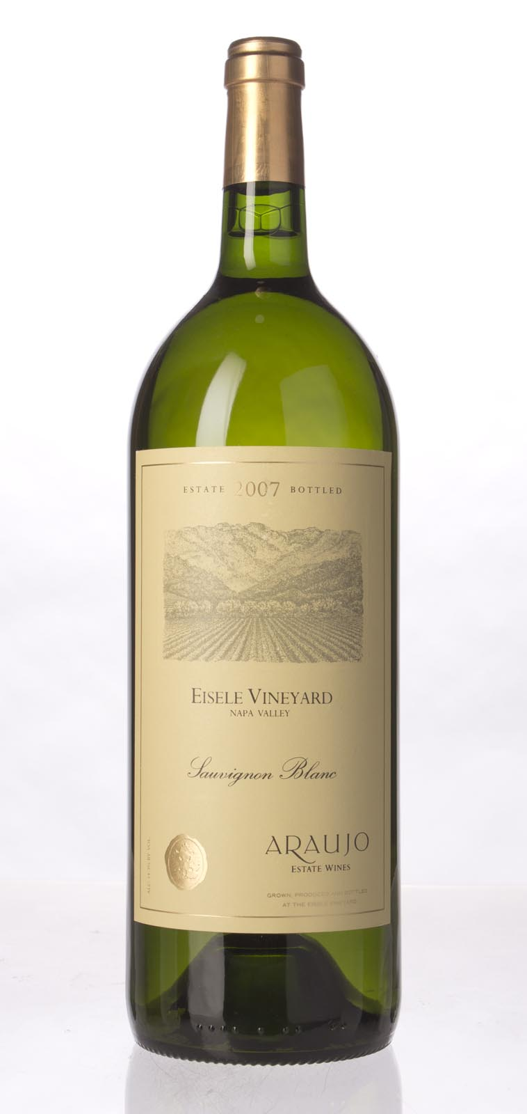 Araujo Estate Sauvignon Blanc Eisele Vineyard 2007, 1.5L (ST92) from The BPW - Merchants of rare and fine wines.