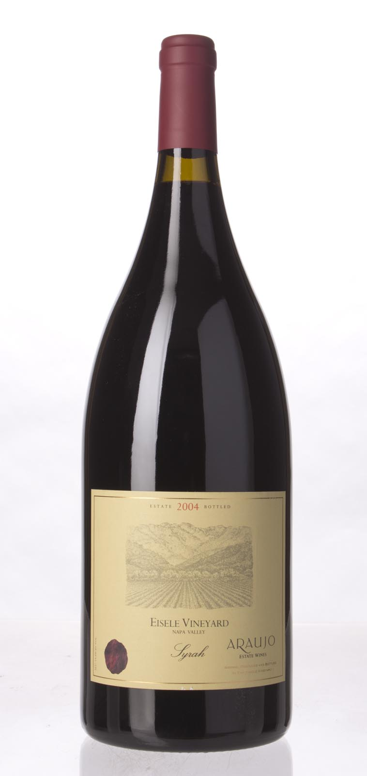 Araujo Estate Syrah Eisele Vineyard 2004, 1.5L (WA92, ST92) from The BPW - Merchants of rare and fine wines.