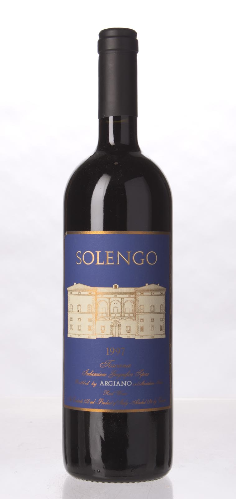 Argiano Solengo 1997, 750mL (WS97) from The BPW - Merchants of rare and fine wines.