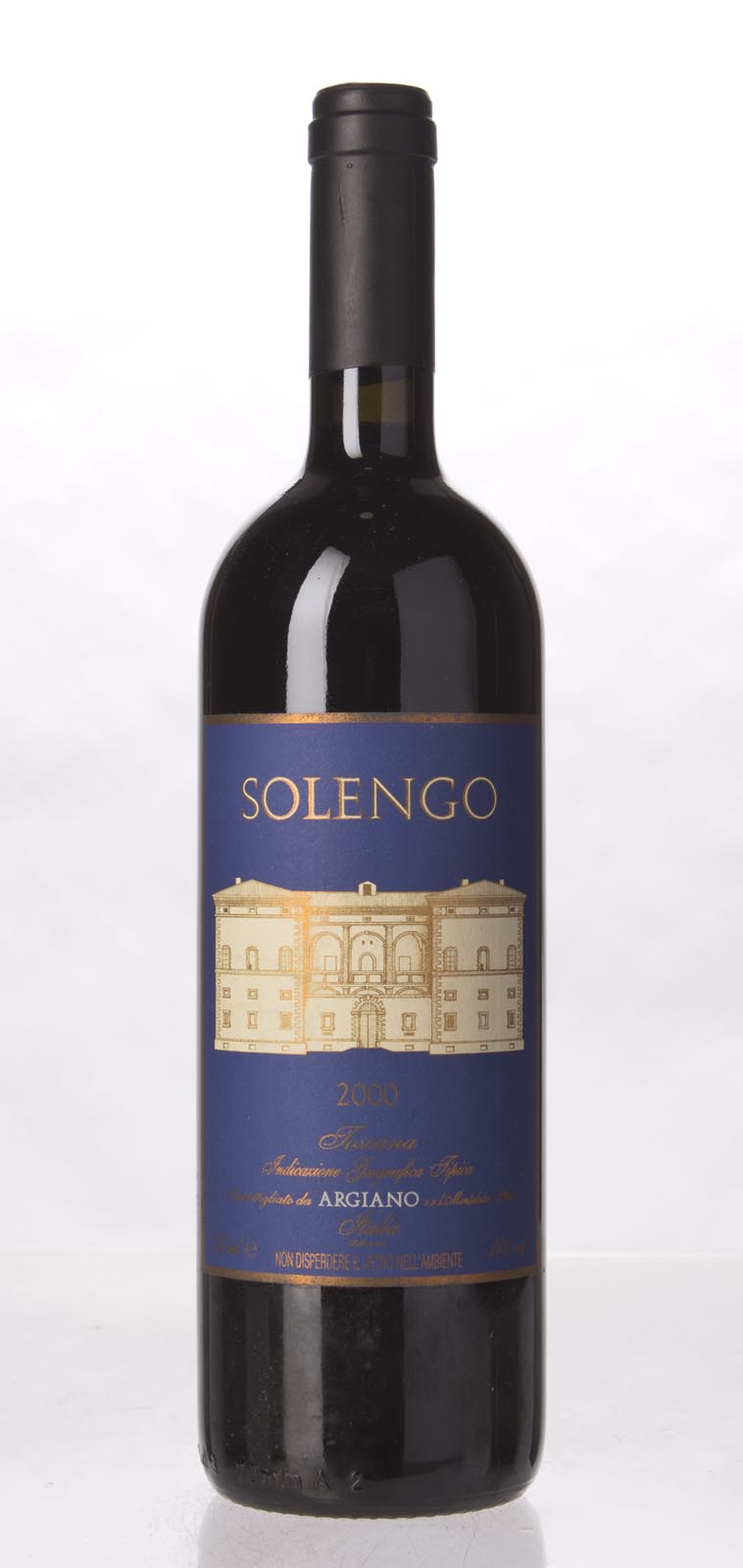 Argiano Solengo 2000, 750mL (WA95) from The BPW - Merchants of rare and fine wines.