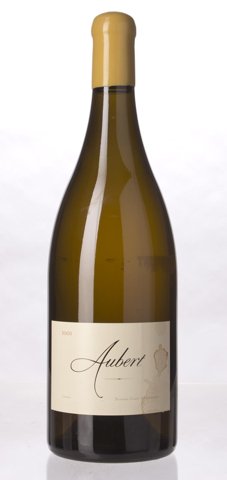 Aubert Chardonnay Lauren Vineyard 2003, 1.5L (WA96) from The BPW - Merchants of rare and fine wines.