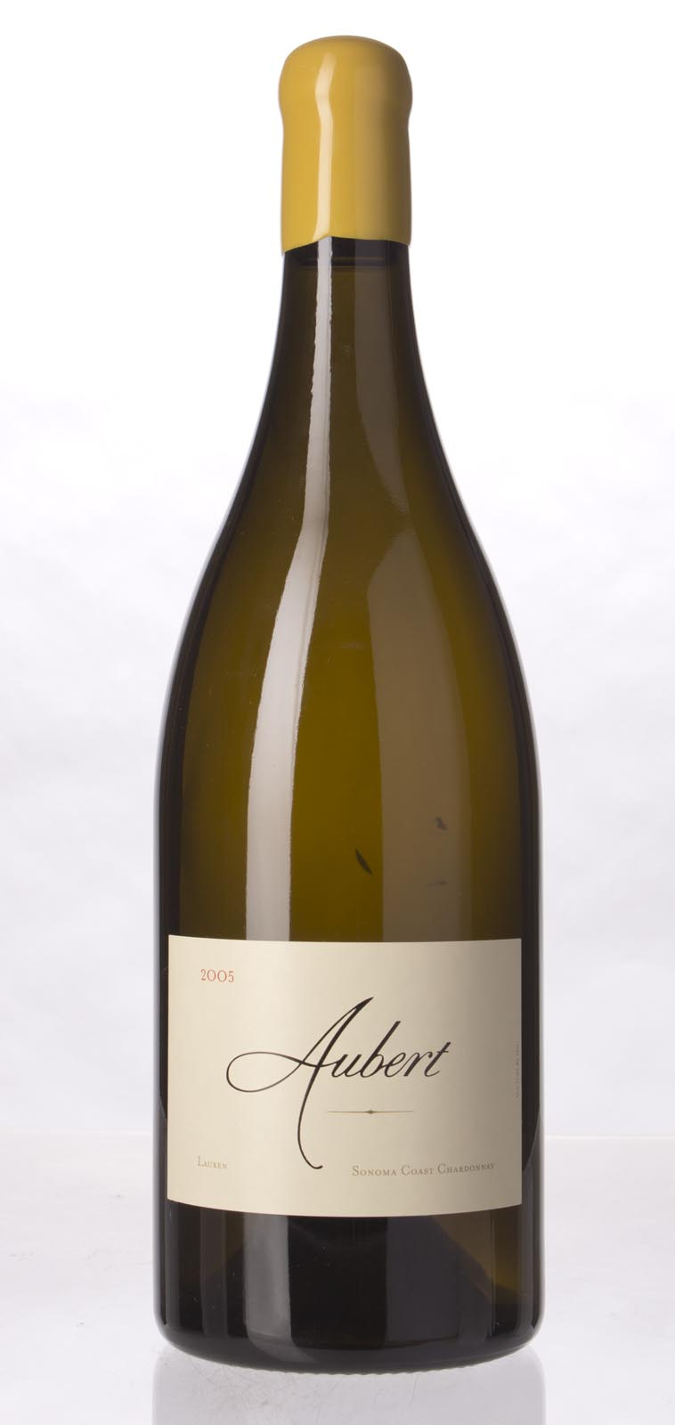 Aubert Chardonnay Lauren Vineyard 2005, 1.5L (WA98) from The BPW - Merchants of rare and fine wines.