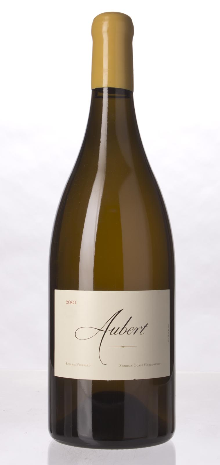Aubert Chardonnay Ritchie Vineyard 2001, 1.5L (WA94, ST94, WS95) from The BPW - Merchants of rare and fine wines.