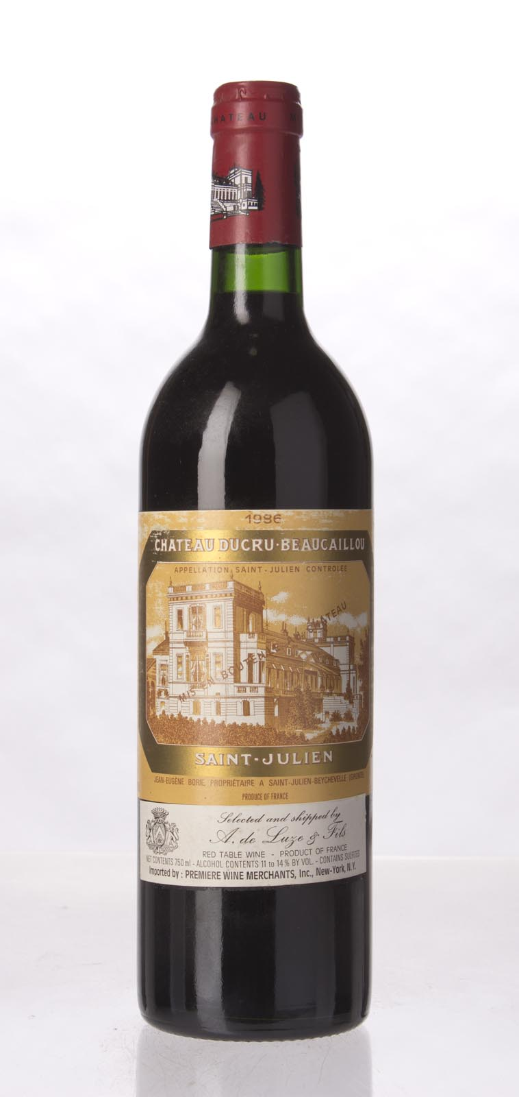Ducru Beaucaillou 1986, 750mL (WS95) from The BPW - Merchants of rare and fine wines.