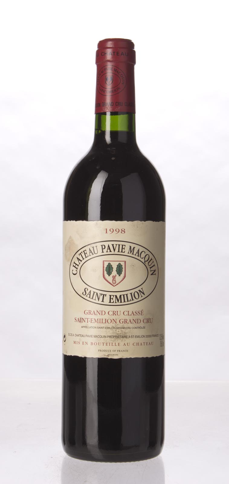 Pavie Macquin 1998, 750mL (WA95) from The BPW - Merchants of rare and fine wines.