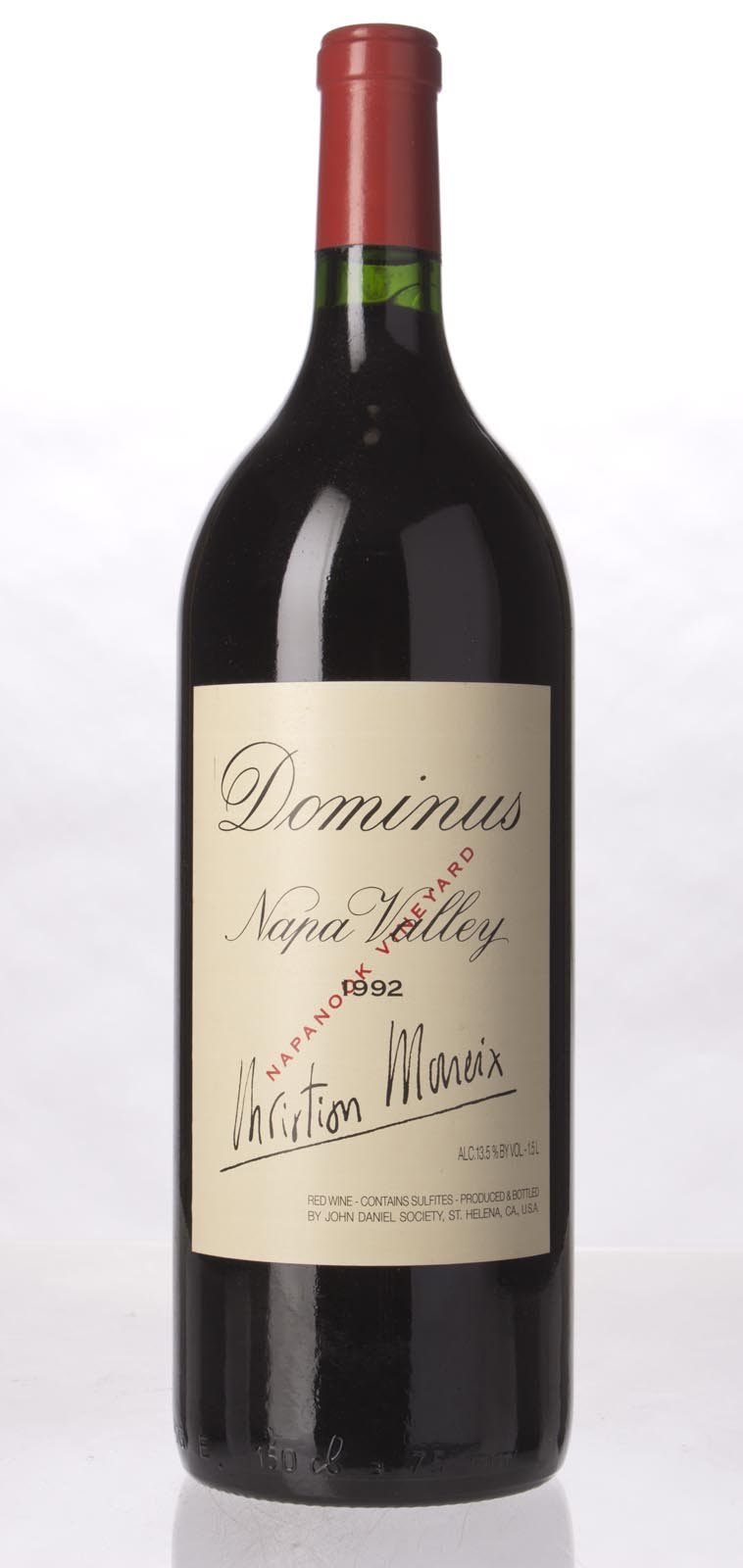 Dominus Proprietary Red Wine 1992, 1.5L (WA95) from The BPW - Merchants of rare and fine wines.