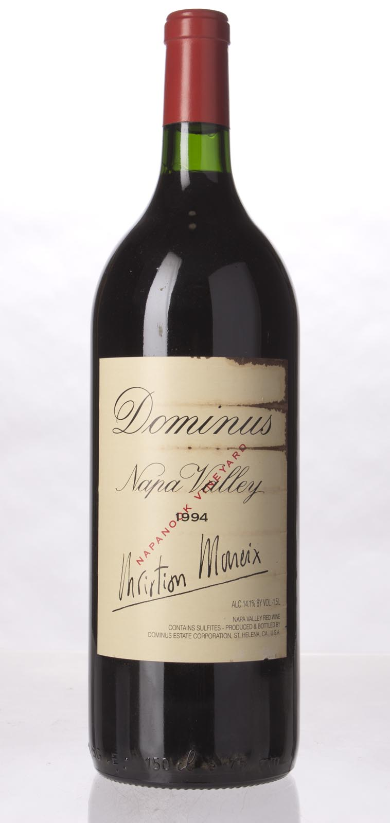 Dominus Proprietary Red Wine 1994, 1.5L (WA99, ST97) from The BPW - Merchants of rare and fine wines.
