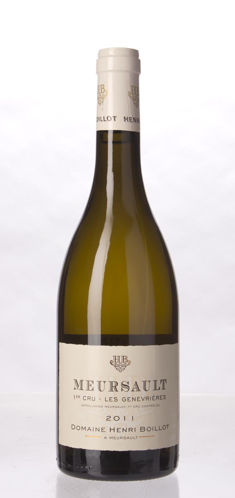Henri Boillot Meursault les Genevrieres 2011, 750mL (WA95-97) from The BPW - Merchants of rare and fine wines.