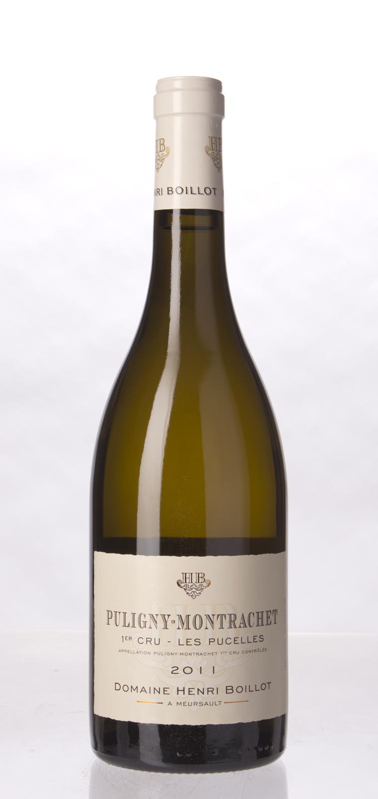 Henri Boillot Puligny Montrachet les Pucelles 2011, 750mL (WA93-95, ST93-95) from The BPW - Merchants of rare and fine wines.
