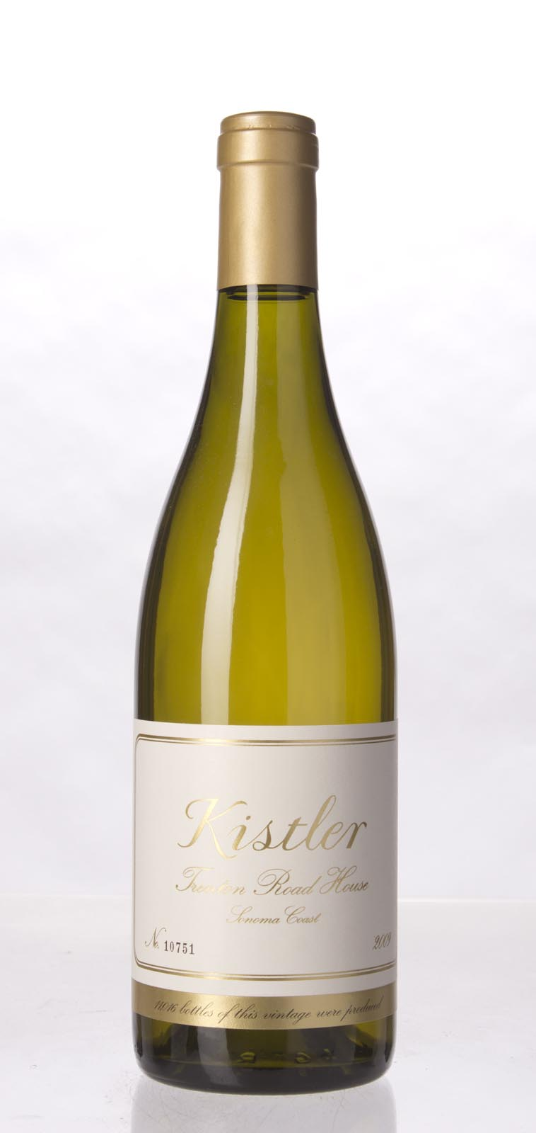 Kistler Chardonnay Trenton Road House 2009, 750mL (WA96, ST94) from The BPW - Merchants of rare and fine wines.