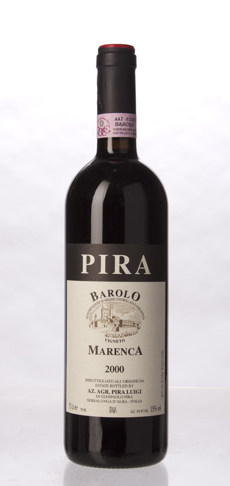 Luigi Pira Barolo Marenca 2000,  (WA93) from The BPW - Merchants of rare and fine wines.