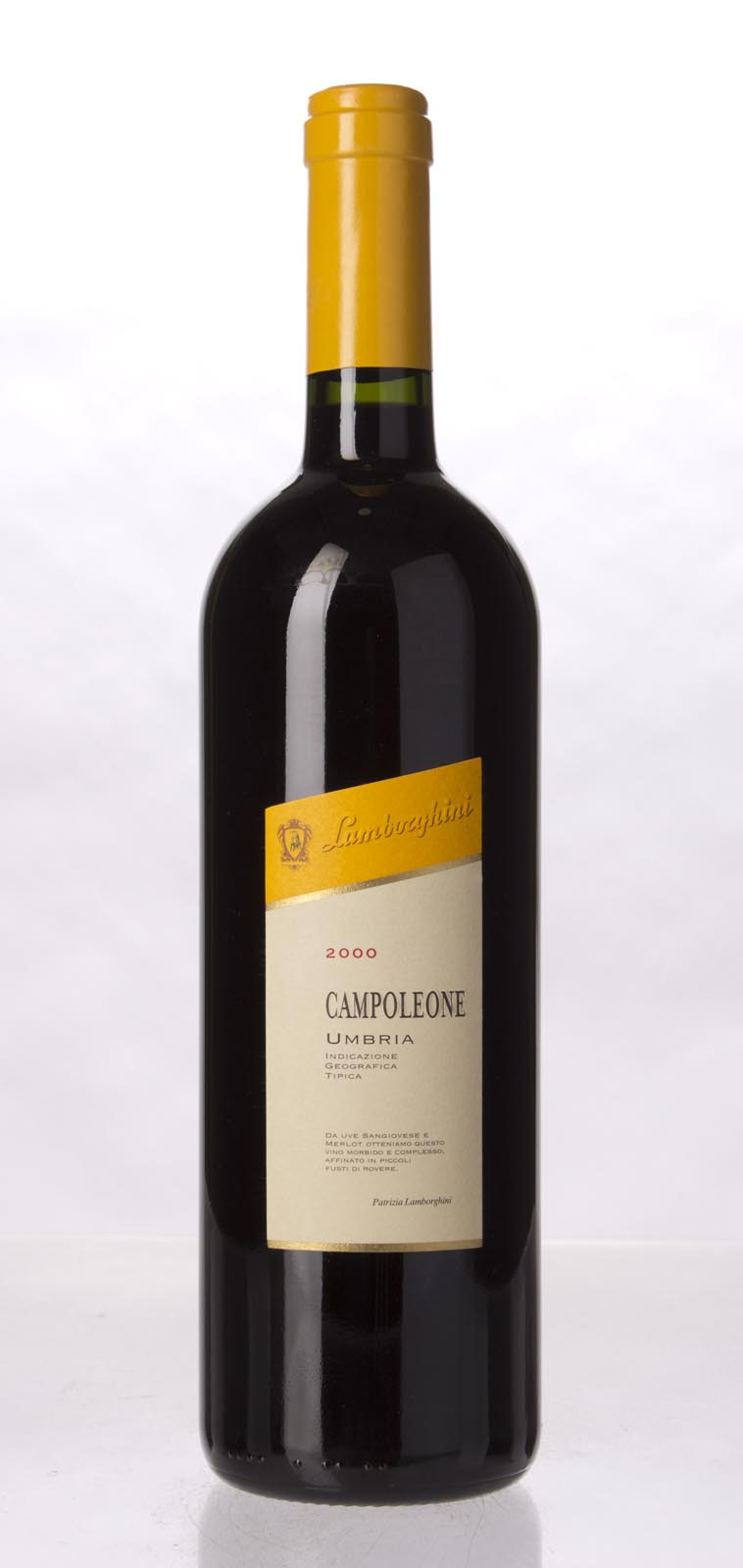 Lamborghini (La Fiorita) Campoleone 2000, 750mL (WA95) from The BPW - Merchants of rare and fine wines.
