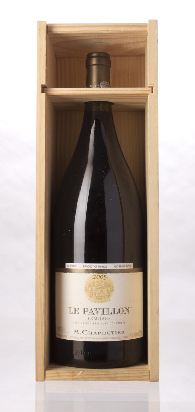 Chapoutier Ermitage le Pavillon 2005, 1.5L (WA98, WS96) from The BPW - Merchants of rare and fine wines.