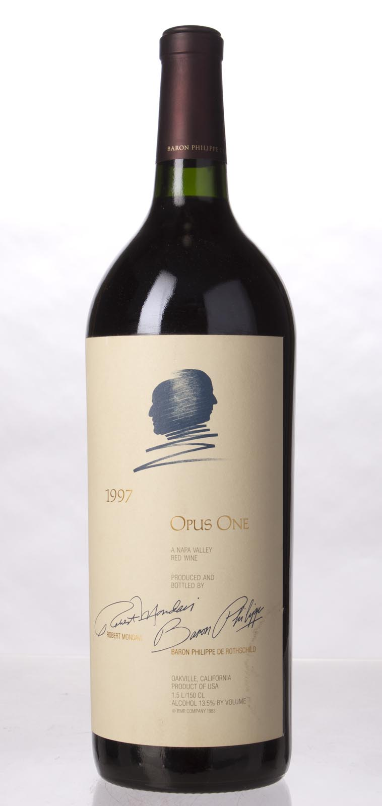 Opus One Proprietary Red Wine 1997, 1.5L (WS94) from The BPW - Merchants of rare and fine wines.