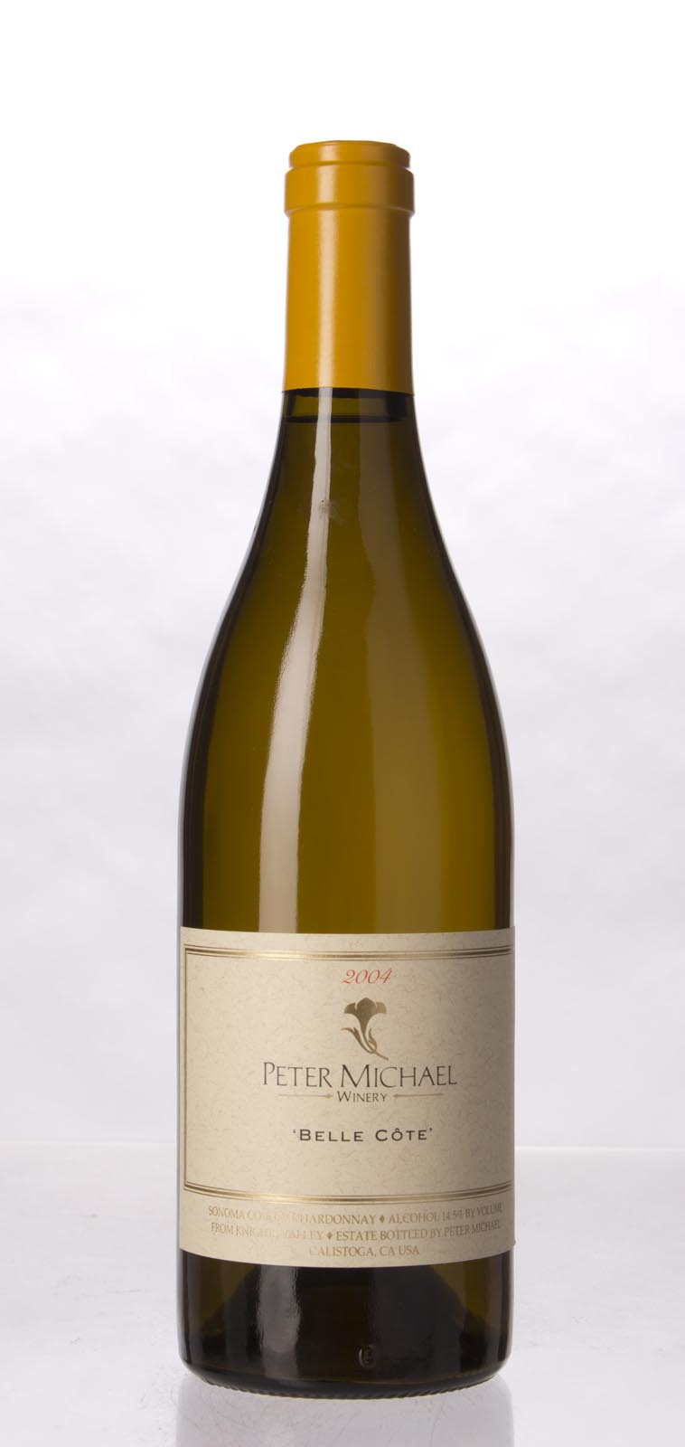 Peter Michael Winery Chardonnay Belle Cote 2004, 750mL (WA95) from The BPW - Merchants of rare and fine wines.