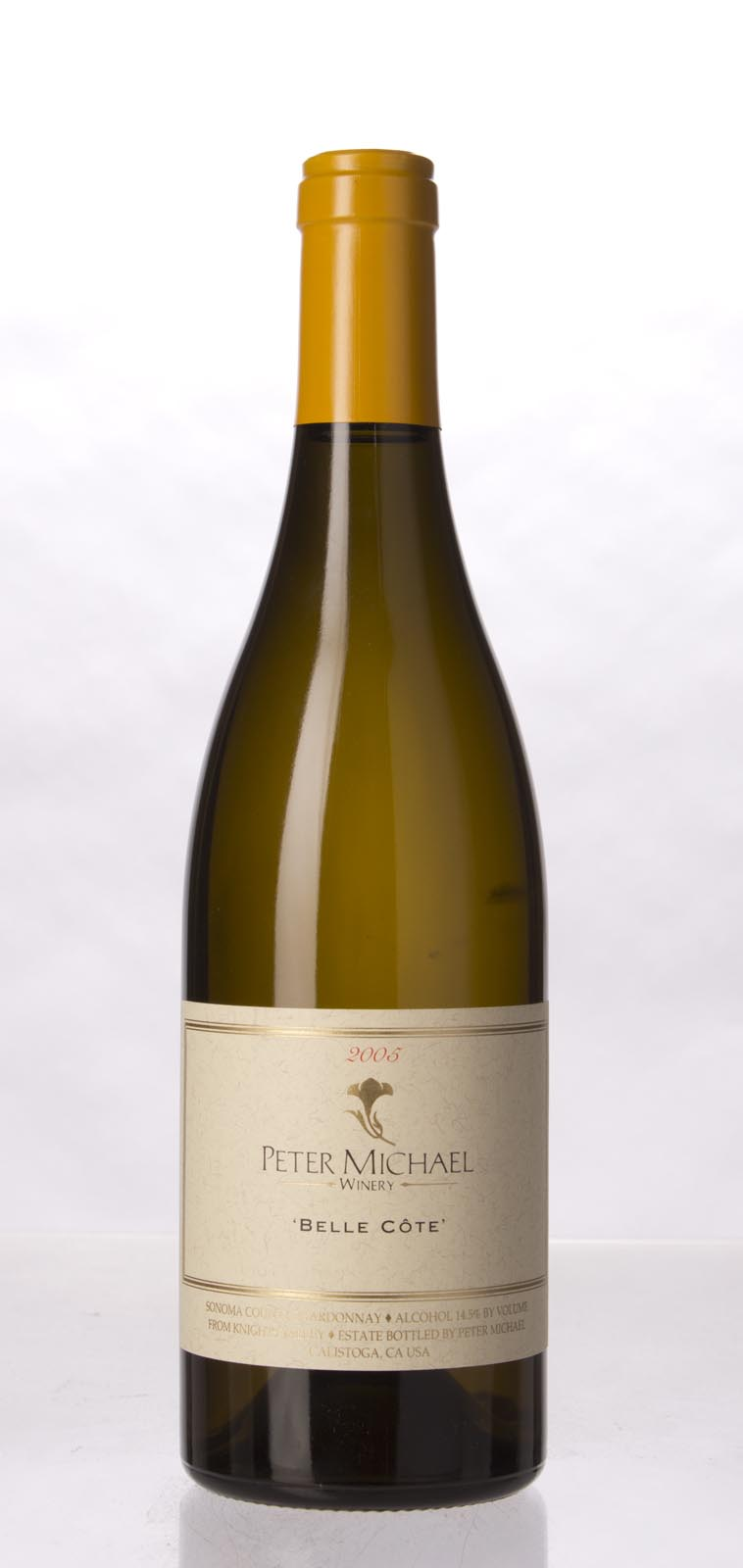 Peter Michael Winery Chardonnay Belle Cote 2005, 750mL (WA95) from The BPW - Merchants of rare and fine wines.