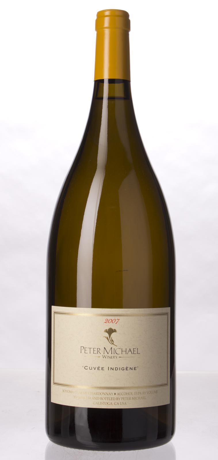 Peter Michael Winery Chardonnay Cuvee Indigene 2007, 1.5L (WA98) from The BPW - Merchants of rare and fine wines.
