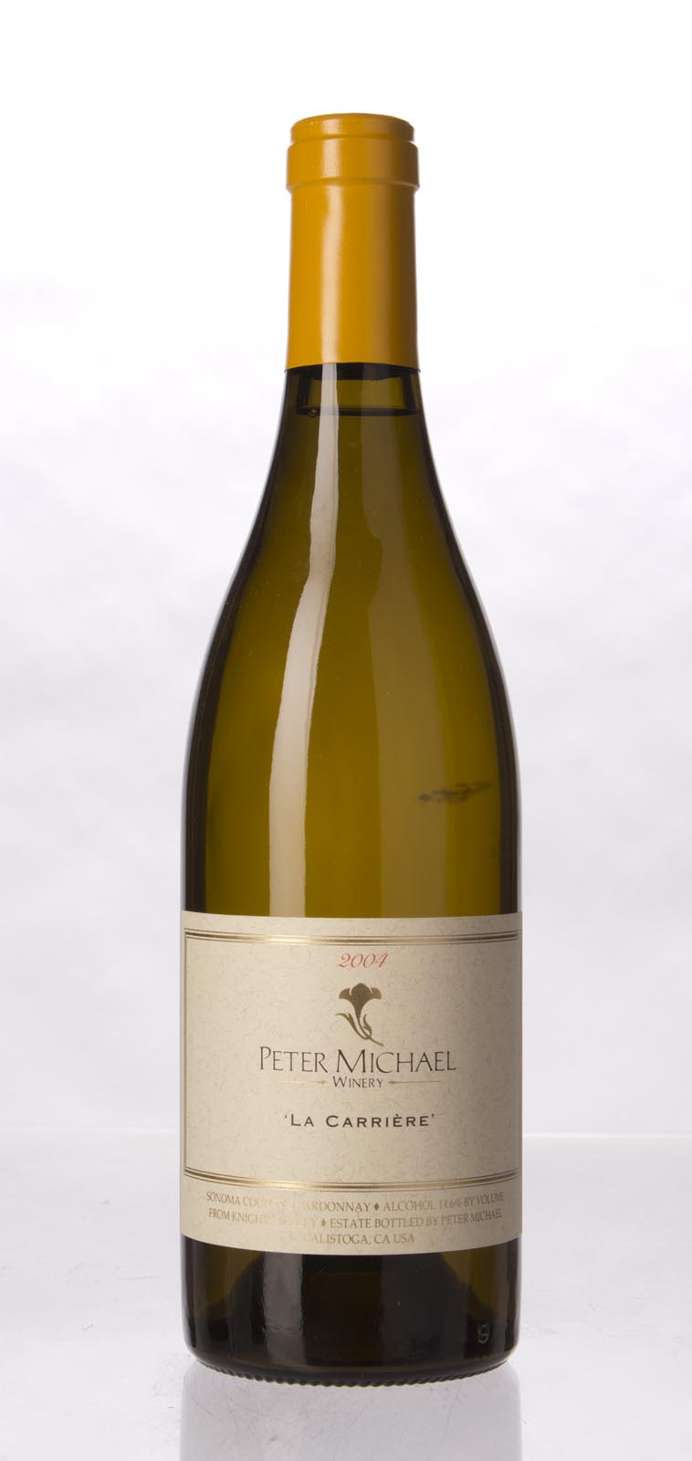 Peter Michael Winery Chardonnay la Carriere 2004, 750mL (WA95) from The BPW - Merchants of rare and fine wines.