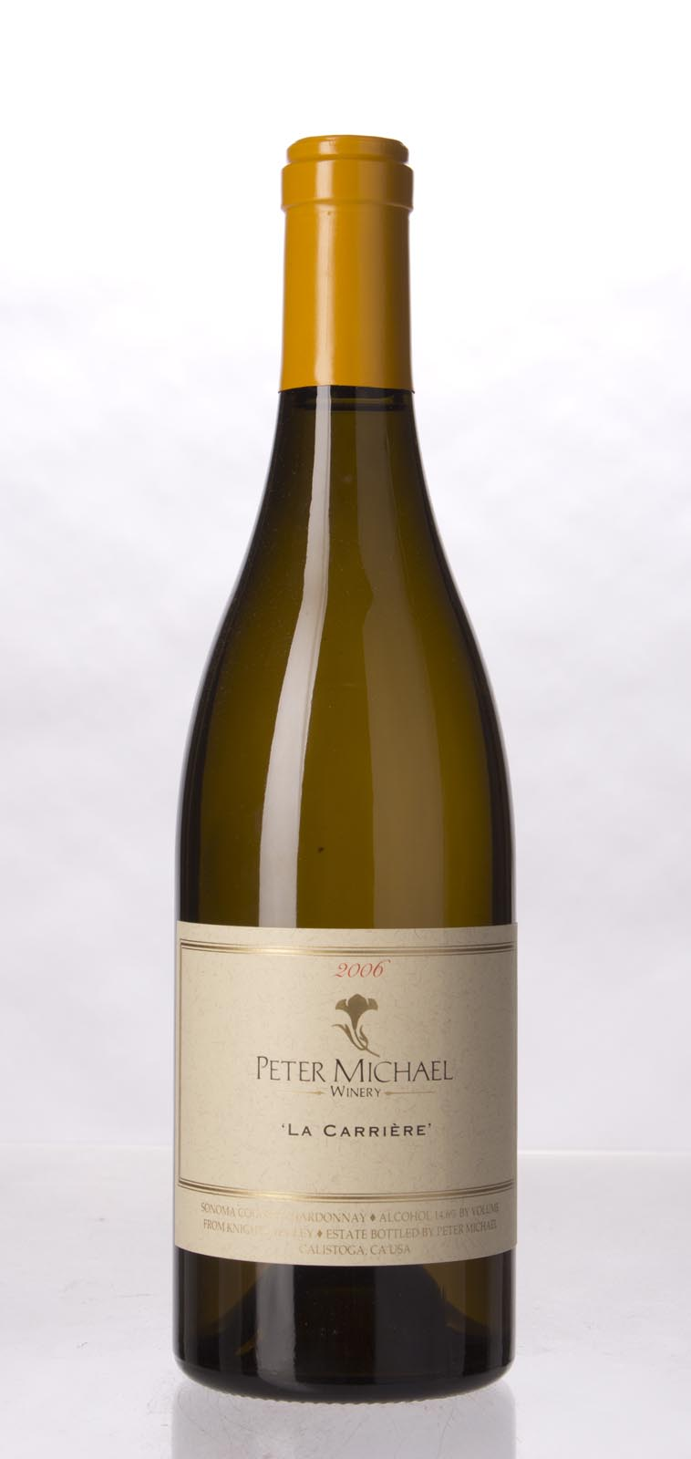 Peter Michael Winery Chardonnay la Carriere 2006, 750mL (WA92, ST93) from The BPW - Merchants of rare and fine wines.