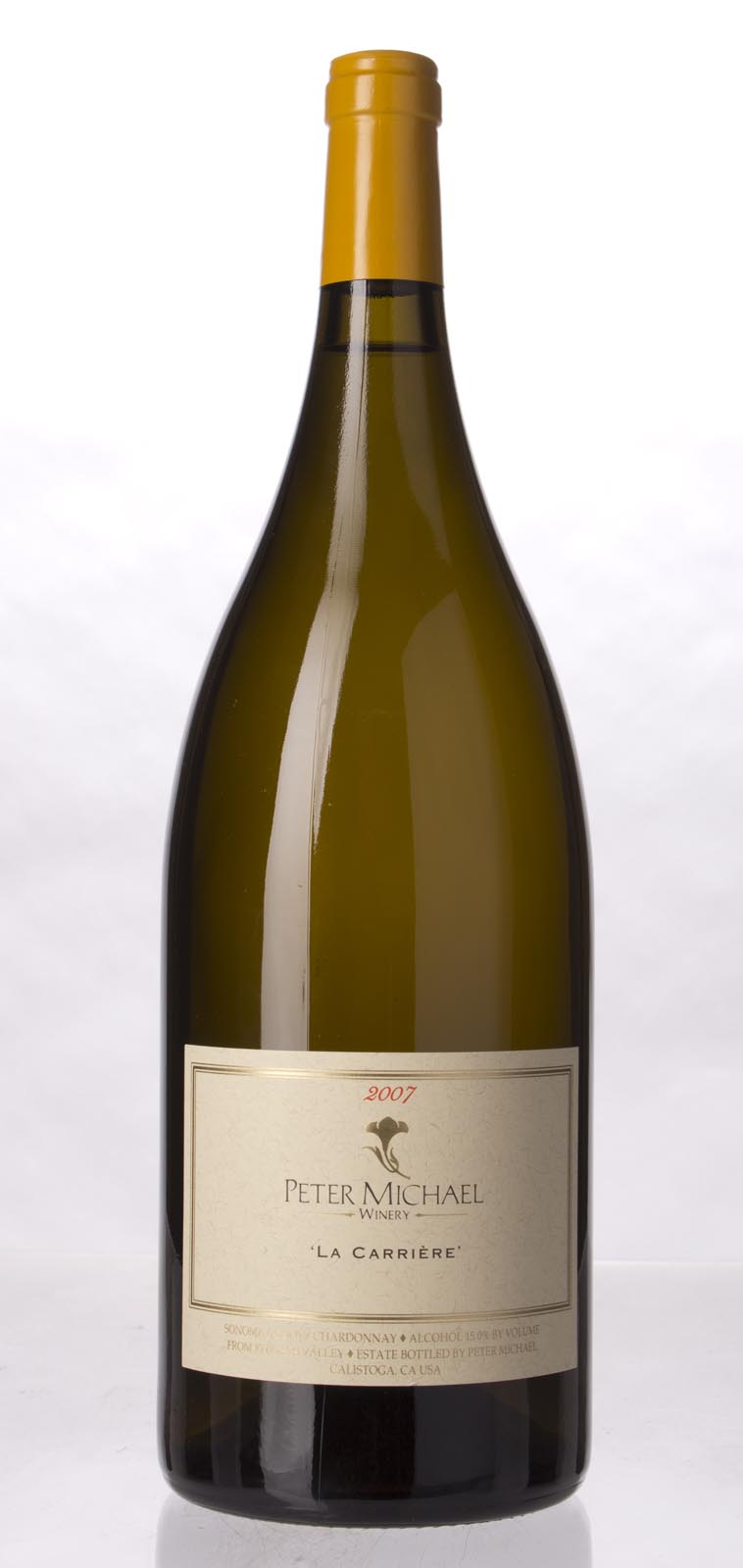 Peter Michael Winery Chardonnay la Carriere 2007, 1.5L (WA96) from The BPW - Merchants of rare and fine wines.
