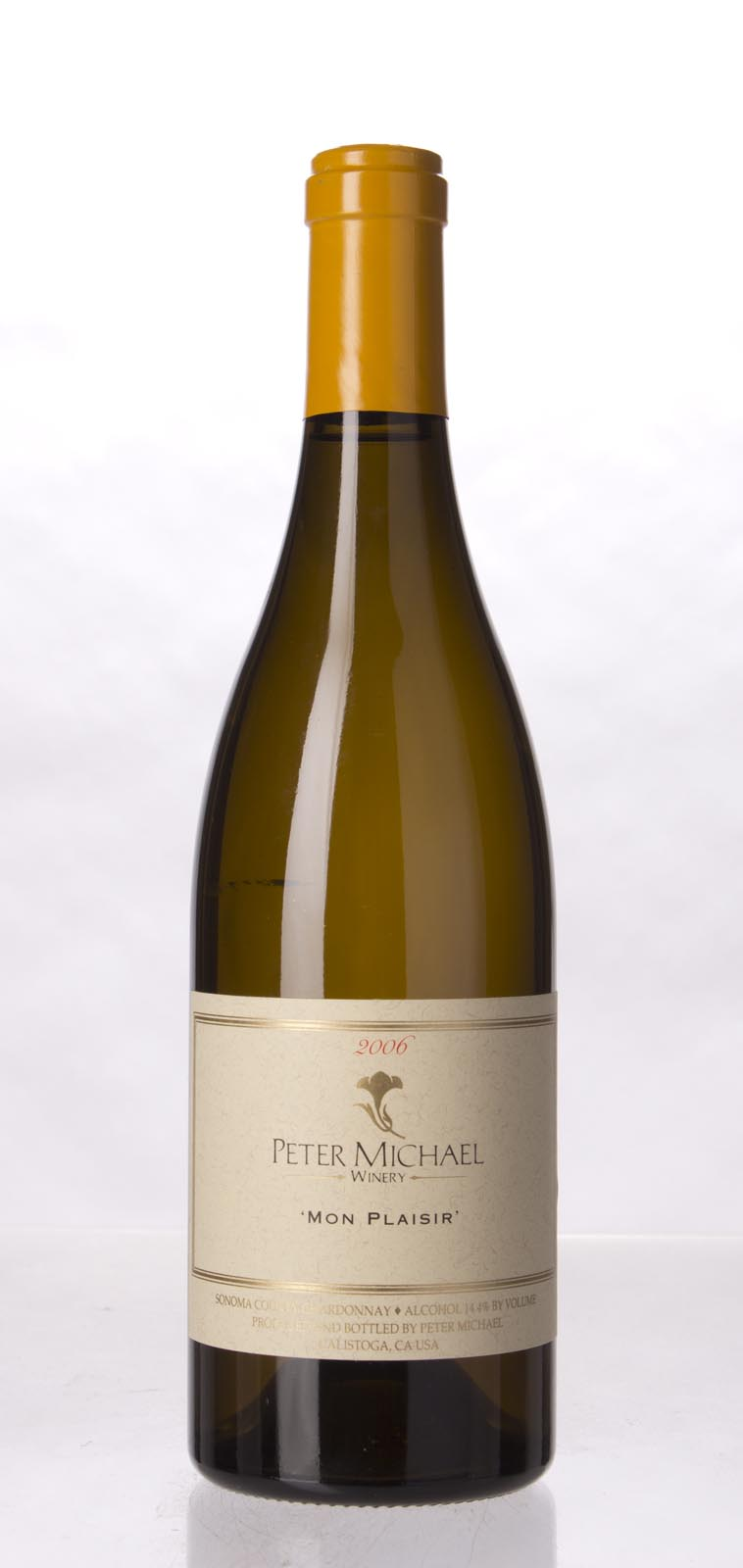 Peter Michael Winery Chardonnay Mon Plaisir 2006, 750mL (WA92) from The BPW - Merchants of rare and fine wines.