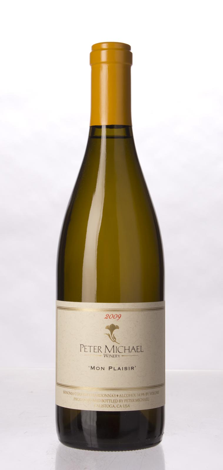 Peter Michael Winery Chardonnay Mon Plaisir 2009, 750mL (WA93, ST92, WS93) from The BPW - Merchants of rare and fine wines.