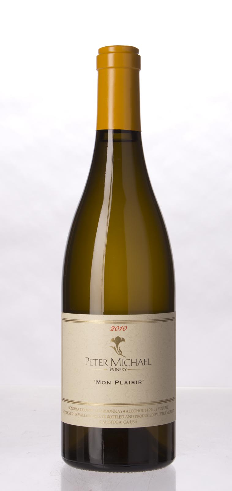 Peter Michael Winery Chardonnay Mon Plaisir 2010, 750mL (WA93, ST93) from The BPW - Merchants of rare and fine wines.