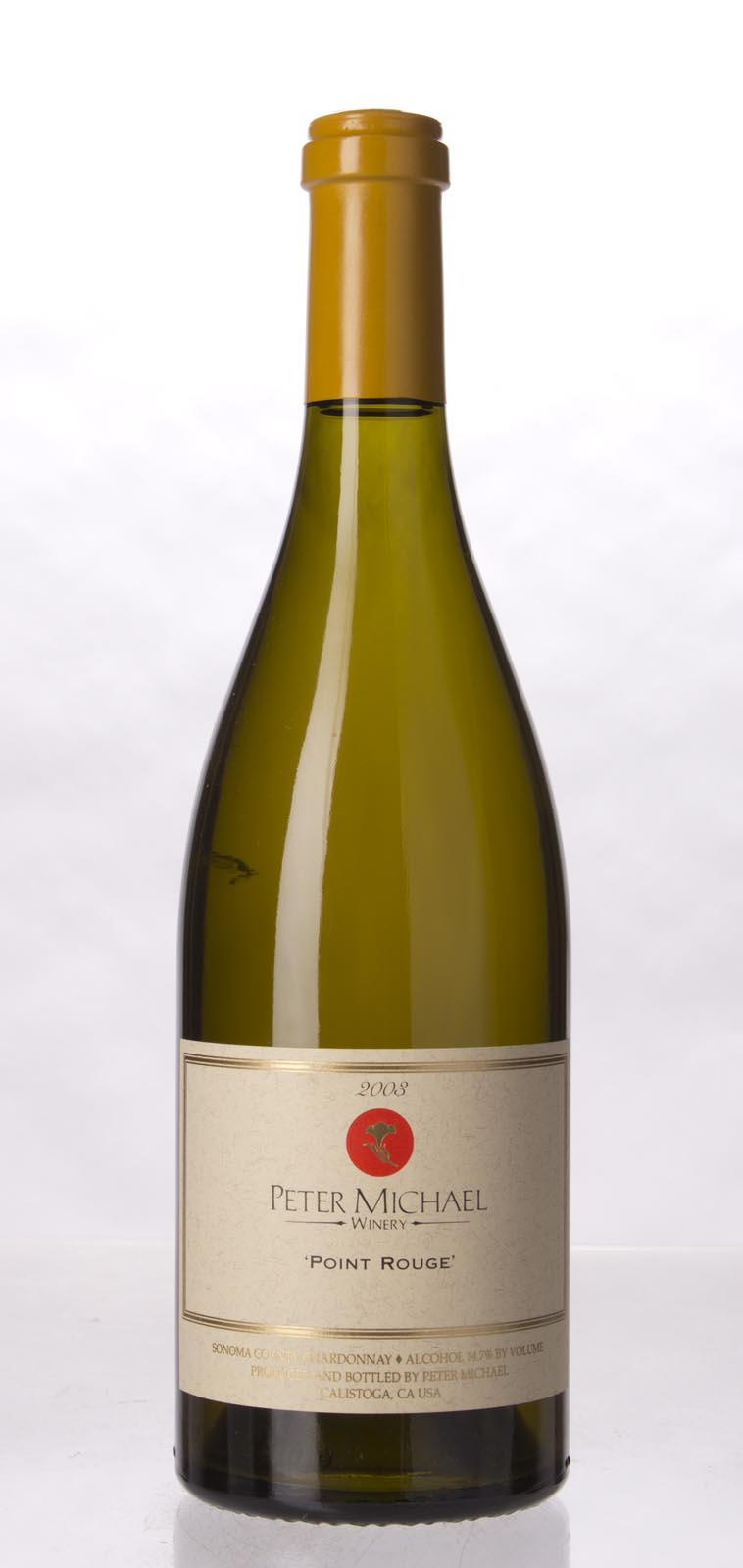 Peter Michael Winery Chardonnay Point Rouge 2003, 750mL (WA97, ST96) from The BPW - Merchants of rare and fine wines.