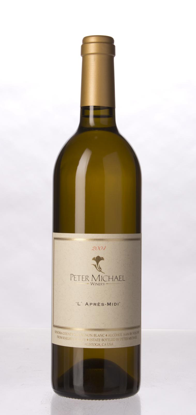 Peter Michael Winery Sauvignon Blanc l`Apres Midi 2004, 750mL (WA92, ST94) from The BPW - Merchants of rare and fine wines.