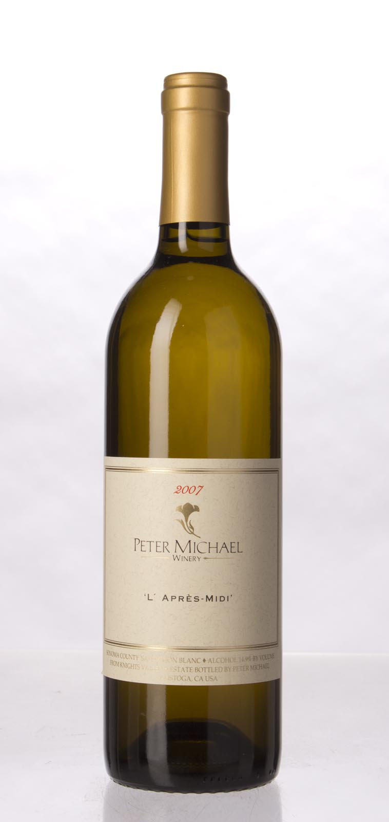 Peter Michael Winery Sauvignon Blanc l`Apres Midi 2007, 750mL (ST92, WS93) from The BPW - Merchants of rare and fine wines.