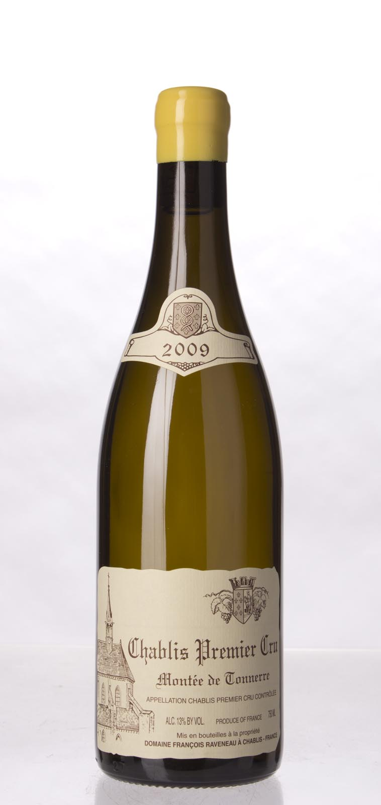 Domaine Francois Raveneau Chablis Montee de Tonnerre 2009, 750mL (BH93, WA93, ST92+) from The BPW - Merchants of rare and fine wines.