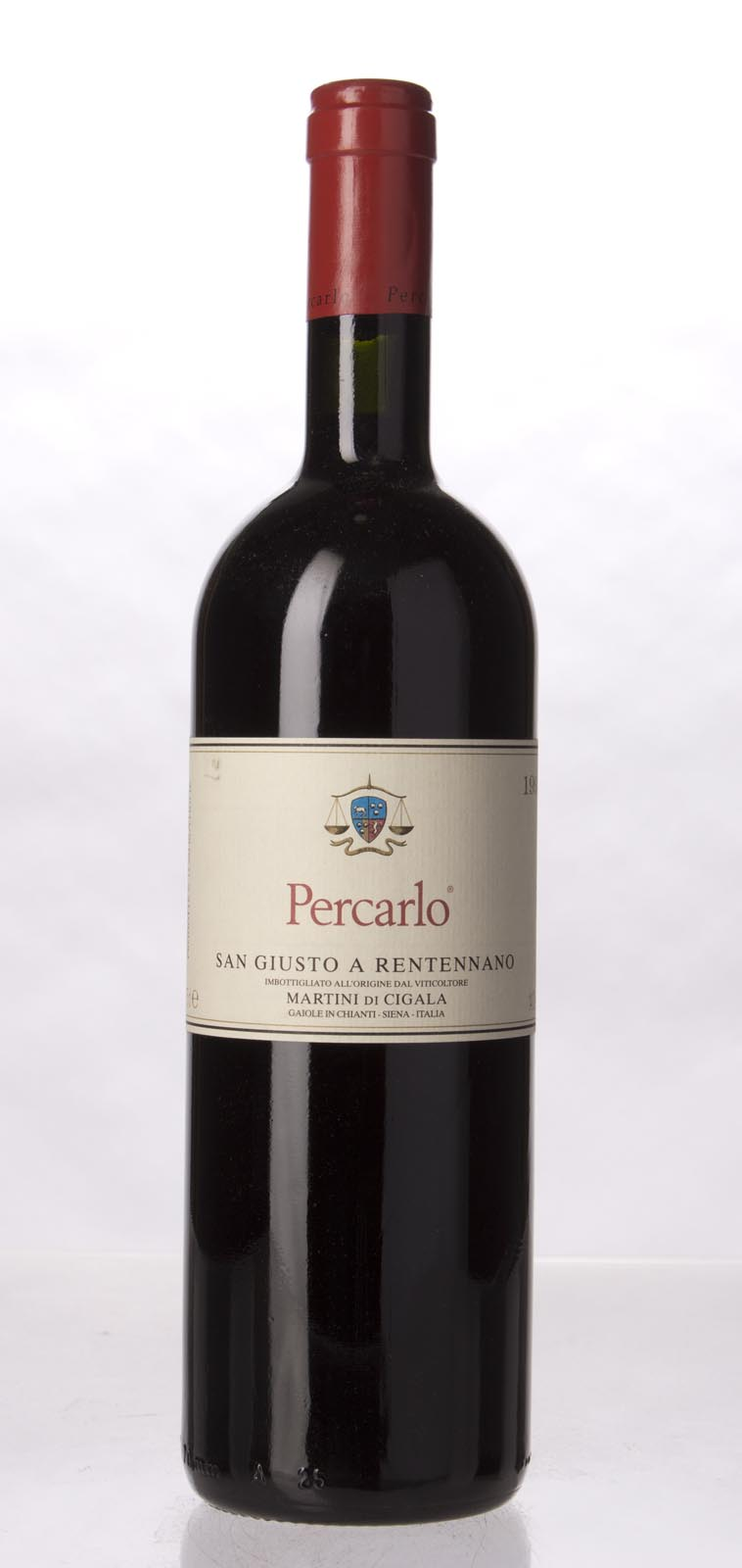 San Giusto a Rentennano Percarlo IGT 1995, 750mL (WA92) from The BPW - Merchants of rare and fine wines.