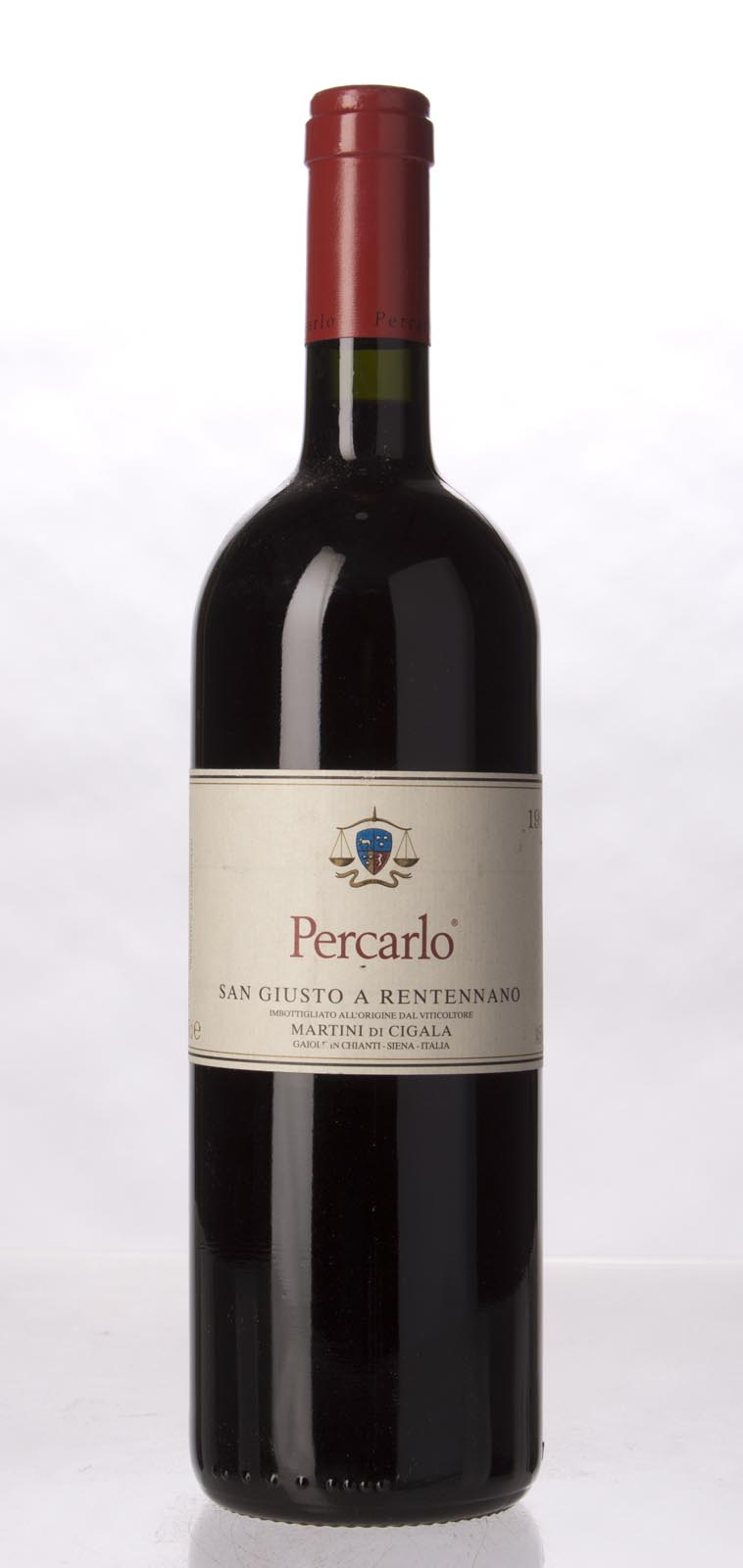 San Giusto a Rentennano Percarlo IGT 1997, 750mL (WA97, ST95) from The BPW - Merchants of rare and fine wines.