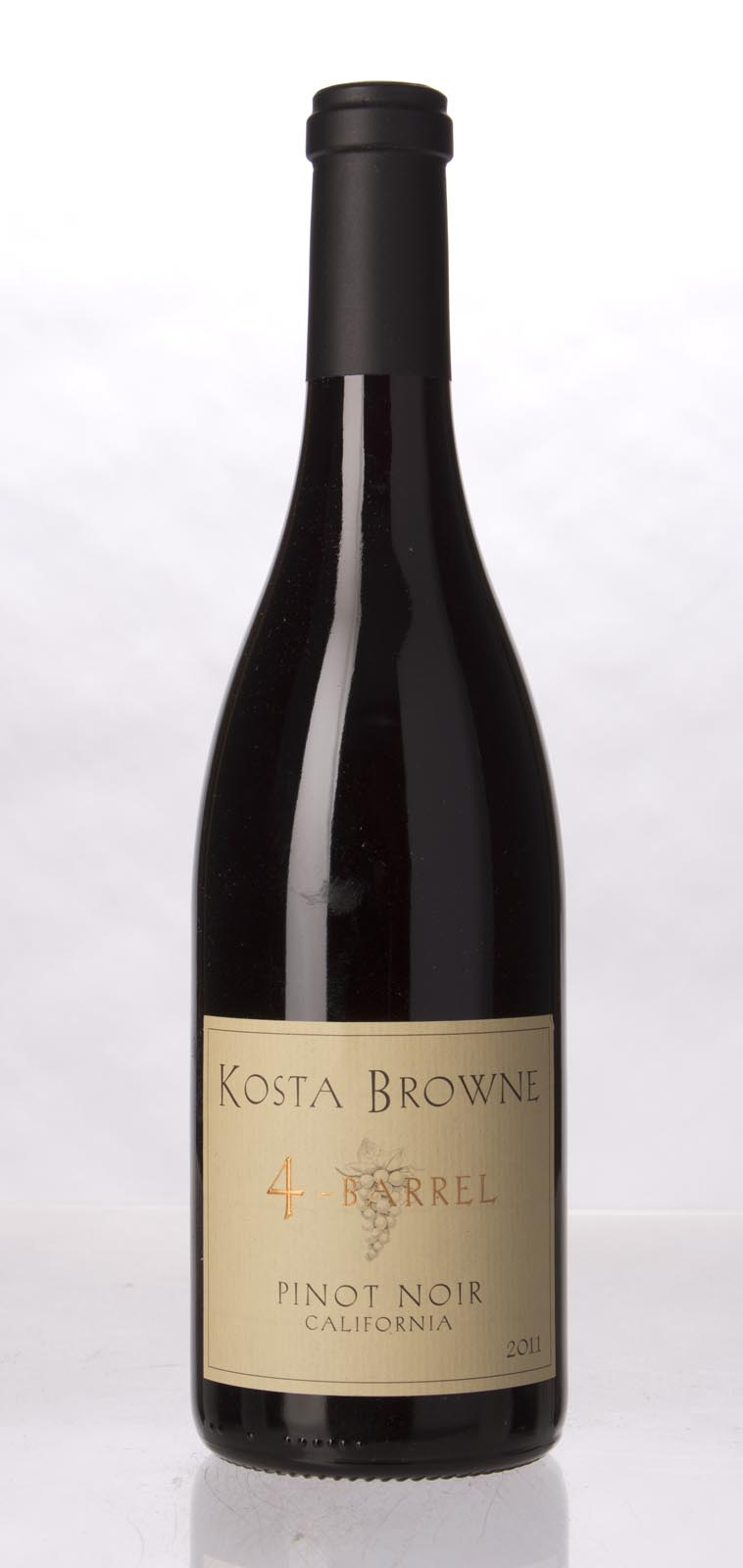 Kosta Browne Pinot Noir 4 Barrel 2011, 750mL (WS93) from The BPW - Merchants of rare and fine wines.